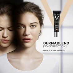 Amostras e Passatempos: AMOSTRAS Dermablend 3D by Vichy