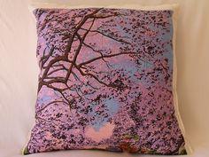 Jacaranda Festival - Love and west teatowel souvenir cushion