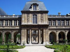 Carnavalet Museum, Paris.  A vacation home is awaiting you one block away on www.paris-sharing.com