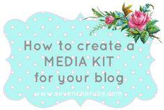 Seven Cherubs shares her personal media kit!
