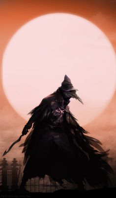 Одеяние Вороны .Bloodborne
