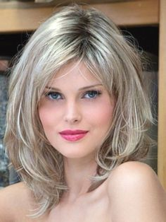 Haircuts Trends 2018 - Hottest Long Bob Hairstyles for Frisuren, Haircuts Trends Hottest Long Bob Hairstyles for 2016 Medium Hair Cuts, Long Hair Cuts, Medium Hair Styles, Curly Hair Styles, Thin Hair, Short Layered Haircuts, Layered Bob Hairstyles, Shoulder Length Layered Hairstyles, Bob Haircuts