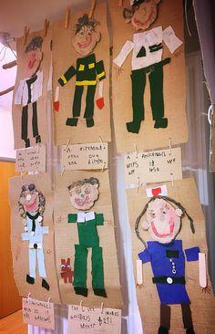 Preschool Displays, Classroom Displays, Preschool Crafts, Kids Crafts, All About Me Eyfs, All About Me Art, Eyfs Activities, Nursery Activities, Hero Crafts