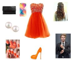 Prom with Luke by harrystylesandliampayne on Polyvore featuring mode, CO, Casadei, Christian Louboutin, Majorica and Uncommon