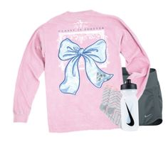 """""""// 12 days of PJs //"""" by preppybelle ❤ liked on Polyvore featuring NIKE and Charter Club"""