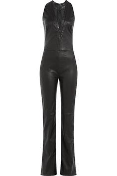 jtours jump suit leather pants