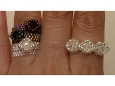 More Beaded Stackable Rings - YouTube