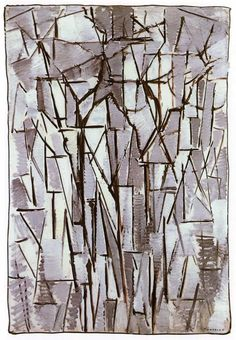 Piet Mondrian: Composition Trees II