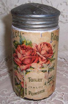 Talco Rosa Toilet Powde