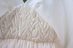 Canadian Smocking, Fabric Manipulation, Nightgown, Bed Pillows, Angel, Lingerie, Photo And Video, Instagram, Design