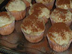 Cupcakes, Cake Cookies, Alcohol Cake, Pasta Cake, Muffins, Hungarian Recipes, Hungarian Food, Muffin Recipes, Diabetic Recipes