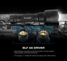Astrolux C8 XP-L HI 1300Lumens 7/4modes A6 Driver Tactical EDC LED Flashlight 18650 Sale - Banggood.com Light Flashlight, Edc, Lights, Lighting, Every Day Carry, Rope Lighting, Candles, Lanterns, Lamps
