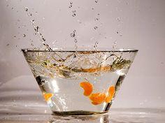 Splash in orange n.3. Art photography by StegoPhotoStore on Etsy, €7.90