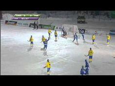 Bandy VM -  Sverige - Finland (Höjdpunkter Andra Halvlek)