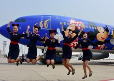 China Eastern Airlines, one of the official sponsors of the park, has debuted their Disney-themed fleet, and they plan to unveil more in the coming years.