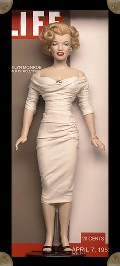 Image detail for -Marilyn Monroe doll by Kim Goodwin
