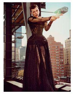 awesome VOGUE PARIS | Editorial Moda Fevereiro 2013 | Milla Jovovich por Inez & Vinoodh