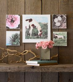 Photo Wall Art - great gift idea and way to personalize! learn how to #DIY transfer a photo or graphic for wall art