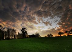 Just the #sky at dawn, in the Welsh countryside. Image courtesy of Carl Jones: www.flickr.com/...