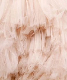 Full Blossom Flower Tulle Lace Fabric in Blush , Wedding Gown Bridal Dress Prom Dress Fabric by Yard Marchesa, Foto Fantasy, Fru Fru, Fritz Hansen, Color Rosa, Pink Aesthetic, Textures Patterns, Fabric Textures, Color Inspiration