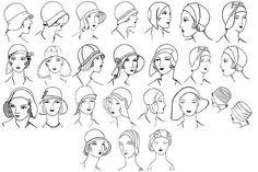 1930s Millinery Make Felt Flapper Hats How to Use Hat Blocks CD eBook DIY Making | eBay