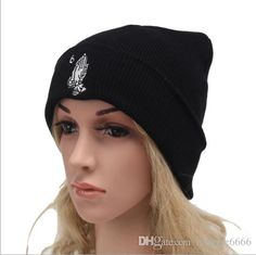 Brand New Cool Black Fashion Warm Woman Man Knitted Hat Outdoors Activities  Running Biking Hiking Skiing 55038044c9d7