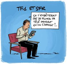 Quand t'as pas TF1 mais que t'as SFR...