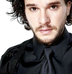 Kit Harington for 'The Observer' by Dean Chalkley
