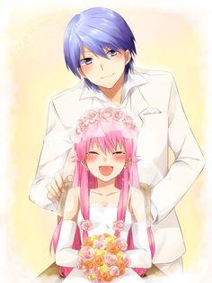Angel Beats! Yui and Hinata's Wedding