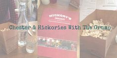 Hickories, Chester with the grump...