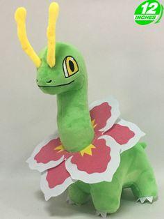 BIG 12'' 30CM Meganium メガニウム Plush Pokemon Stuffed Doll Toy Soft Game PNPL5380 #OLY