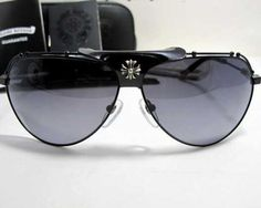9dc86ea2b6bc Chrome Hearts KUFANNAW II Sunglasses SBK-MBK Hot Sale