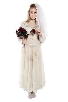 victorian ghost bride halloween costume ideas