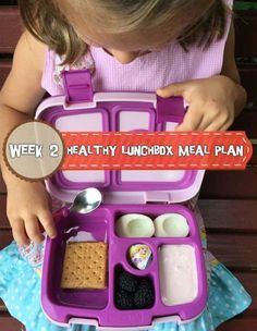 Healthy Lunchbox Meal Plan: Week 2 - Holley Grainger