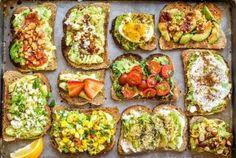 ::Monday Meals: Big Avocado Toast Inspiration via @MyWomensHealth::
