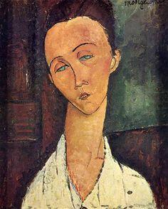 Portrait of Lunia Czechowska - Amedeo Modigliani