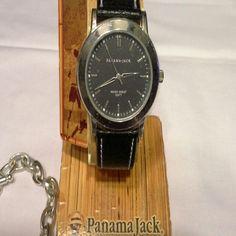 PANAMA JACK WATCH  NEW** Black band Accessories Watches