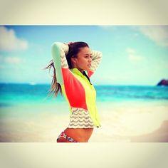 Alessia Quizon#Billabong#