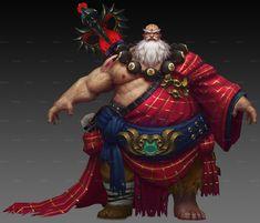 第七期实体班角色课程作品 3d Character, Character Design, Samurai Wallpaper, 3d Coat, 3d Hand, Hand Painted Textures, Warrior 2, Fantasy Characters, Fictional Characters