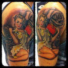 My tattoo, my pin up, my love!