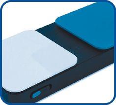 iPad Zubehör: Das iPad erfreut sich immer größerer Beliebtheit in der Unterstützten Kommunikation. Bei motorischen Einschränkungen können externe Taster die Bedienung zugänglich machen; Schutzhüllen ermöglichen z. B. eine Verstärkung des Lautsprechers oder die Montage am Rollstuhl.
