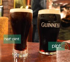 "For when I go to Ireland. ""How to blend in at the pub."" I'm ordering a blackcurrant and water!"