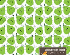 """Check out new work on my @Behance portfolio: """"pear"""" http://be.net/gallery/54511829/pear"""
