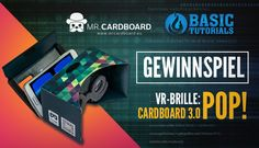 #Gewinnspiel: POP! Cardboard 3.0 (VR-Brille) by @MRCARDBOARD_EU
