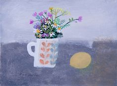 Flowers Picked on a Cold Morning by Elaine Pamphilon