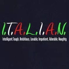 Not every Italiano. Italian Memes, Italian Quotes, Italian Phrases, Italian Words, Italian Girl Problems, Italian People, Italian Language, Learning Italian, Thats The Way