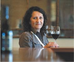 Amelia Moran Ceja, president of Ceja Vineyards, at the winery's new tasting room in Sonoma Valley. Vineyards to Vintners - The Press Democrat