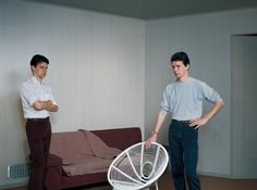 Jeff Wall, Double Self Portrait, 1979