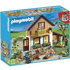 $69.99 Playmobil Farm House with Shop  From PLAYMOBIL®   Get it here: http://astore.amazon.com/toys4kids09-20/detail/B004LQSEL6/183-0531885-4435500