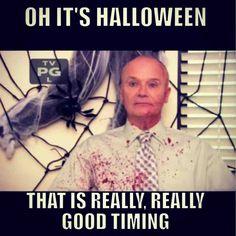 Creed on Halloween.
